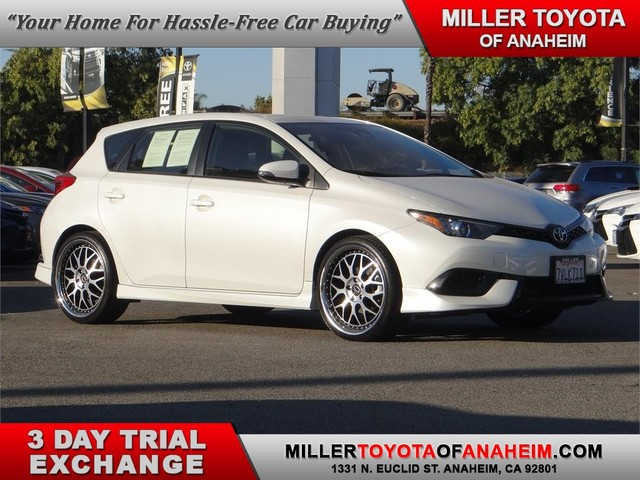 Certified Pre-Owned 2017 Toyota Corolla iM *ALLOYS.BACK UP CAM.