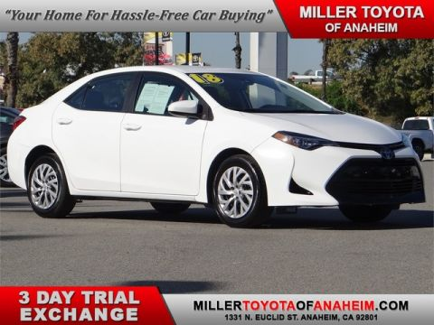 Certified Pre-Owned 2018 Toyota Corolla LE Front Wheel Drive Sedan - In-Stock