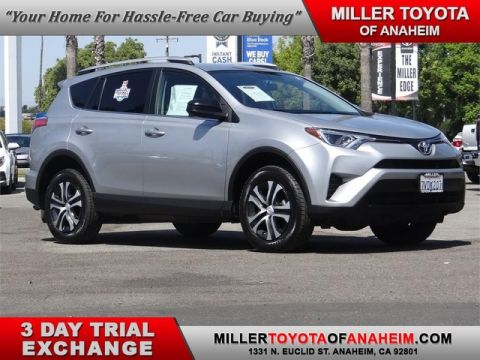 Certified Pre-Owned 2016 Toyota RAV4 LE Front Wheel Drive SUV - In-Stock