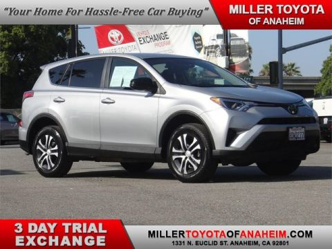 Certified Pre-Owned 2018 Toyota RAV4 LE Front Wheel Drive SUV - In-Stock