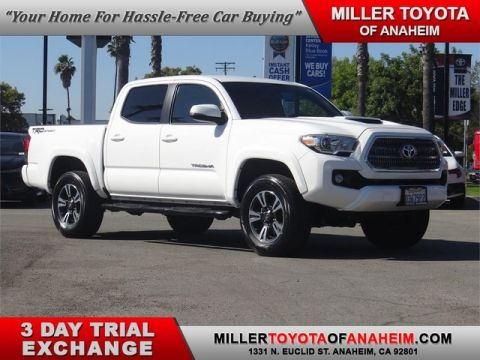 Certified Pre-Owned 2016 Toyota Tacoma TRD Sport Rear Wheel Drive Short Bed - In-Stock
