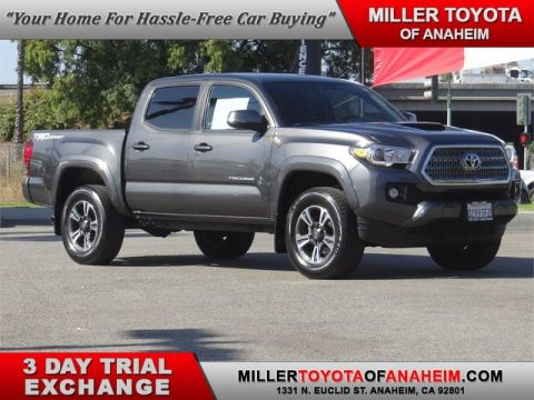 Certified Pre-Owned 2017 Toyota Tacoma TRD Sport Rear Wheel Drive Short Bed - In-Stock