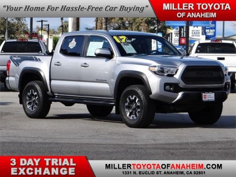 Certified Pre-Owned 2017 Toyota Tacoma TRD Off Road Rear Wheel Drive Trucks - In-Stock