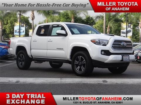 Certified Pre-Owned 2017 Toyota Tacoma TRD Sport Rear Wheel Drive Pickup Truck - In-Stock