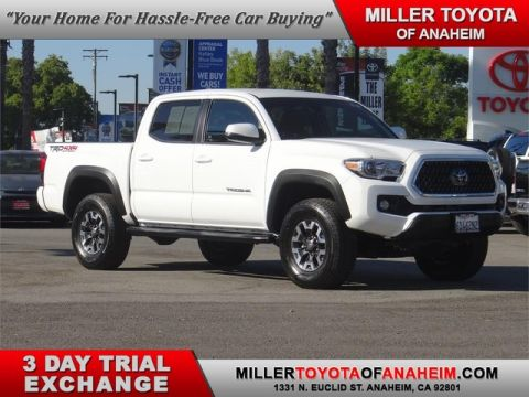 Certified Pre-Owned 2018 Toyota Tacoma TRD Off Road Four Wheel Drive Short Bed - In-Stock