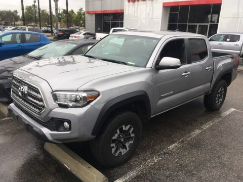 Certified Pre-Owned 2017 Toyota Tacoma TRD Off Road Four Wheel Drive Pickup Truck - In-Stock