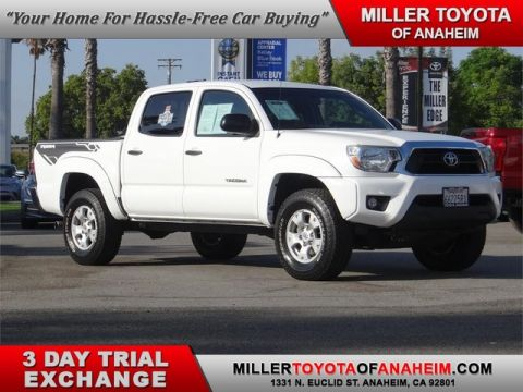 Certified Pre-Owned 2014 Toyota Tacoma PreRunner Rear Wheel Drive Pickup Truck - In-Stock