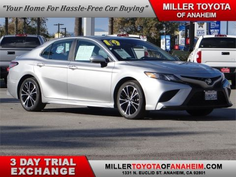 Certified Pre-Owned 2019 Toyota Camry SE*NAVI.LANE ALERT.