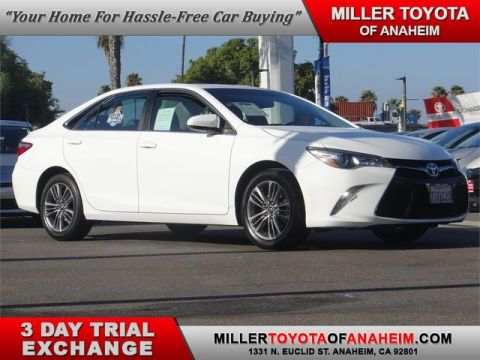Certified Pre-Owned 2016 Toyota Camry SE*LOW MILES.CONVENIENCE PKG.NAVI.ROOF.BACK UP CAM Front Wheel Drive Sedan - In-Stock