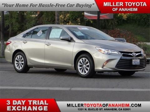 Certified Pre-Owned 2017 Toyota Camry LE* LOW LOW MILES!