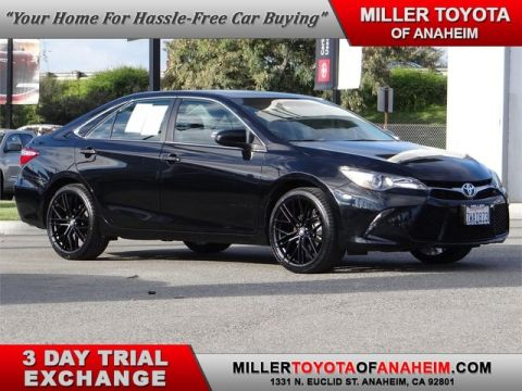 Certified Pre-Owned 2017 Toyota Camry SE* BRAND NEW HI-TECH ALLOYS AND PERFORMANCE TIRES.NAVI.MOON ROOF. PREFERRED OWNERS PORTFOLIO.XM.