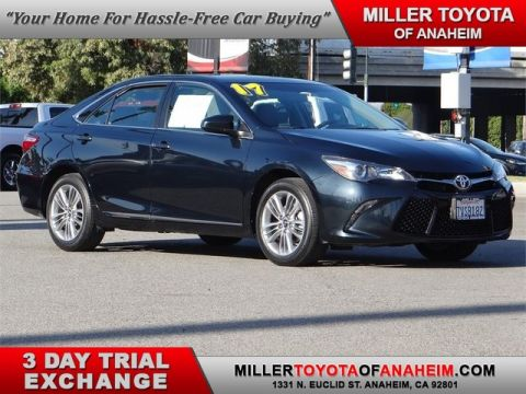 Certified Pre-Owned 2017 Toyota Camry SE* LOW LOW MILES.NAVI.MOON ROOF. Front Wheel Drive Sedan - In-Stock