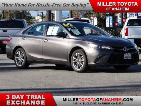 Certified Pre-Owned 2017 Toyota Camry SE Front Wheel Drive Sedan - In-Stock