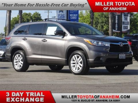 Certified Pre-Owned 2016 Toyota Highlander LE Front Wheel Drive SUV - In-Stock