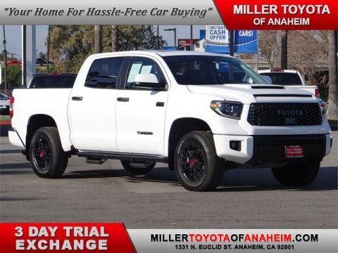 Certified Pre-Owned 2020 Toyota Tundra 4WD TRD Pro Four Wheel Drive Trucks - In-Stock