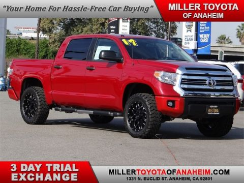 Certified Pre-Owned 2017 Toyota Tundra 2WD SR5 Rear Wheel Drive Pickup Truck - In-Stock