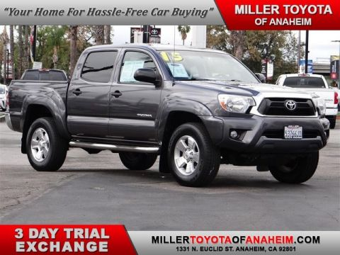 Certified Pre-Owned 2015 Toyota Tacoma PreRunner Rear Wheel Drive Trucks - In-Stock