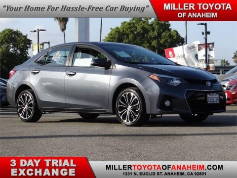 Certified Pre-Owned 2016 Toyota Corolla S Plus Front Wheel Drive Sedan - In-Stock