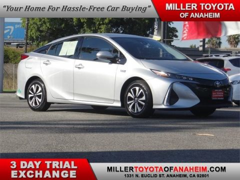 Certified Pre-Owned 2017 Toyota Prius Prime Premium* RADAR CRUISE.HEATED SEATS.PWR DRIVER'S.LANE DEPARTURE ALERT.NAVI.XM Front Wheel Drive Hatchback - In-Stock