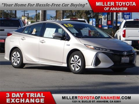 Certified Pre-Owned 2018 Toyota Prius Prime Plus* CURRENT CAR POOL STICKERS! Front Wheel Drive Hatchback - In-Stock