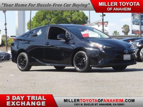 Certified Pre-Owned 2017 Toyota Prius Three Front Wheel Drive Hatchback - In-Stock