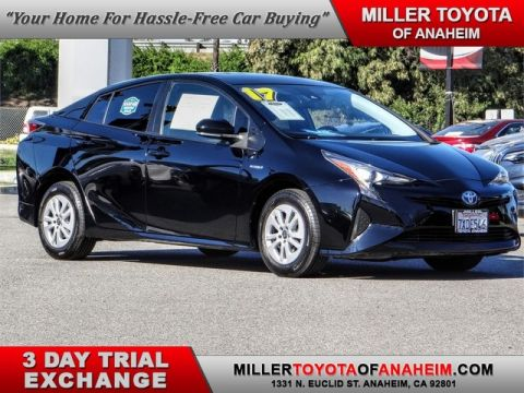 Certified Pre-Owned 2017 Toyota Prius Two Front Wheel Drive Hatchback - In-Stock