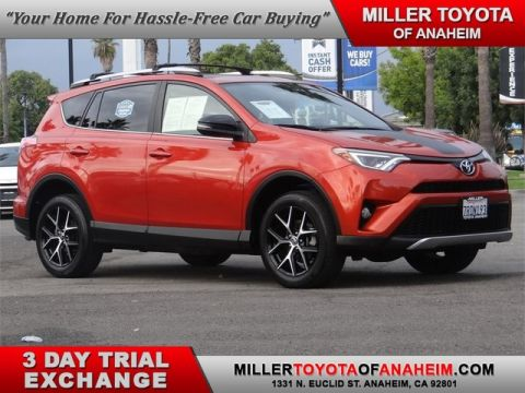 Certified Pre-Owned 2016 Toyota RAV4 SE Front Wheel Drive SUV - In-Stock