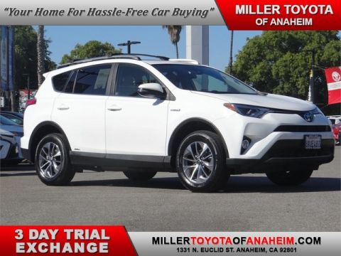 Certified Pre-Owned 2017 Toyota RAV4 Hybrid XLE All Wheel Drive SUV - In-Stock