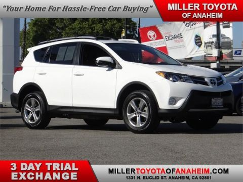 Certified Pre-Owned 2015 Toyota RAV4 XLE Front Wheel Drive SUV - In-Stock