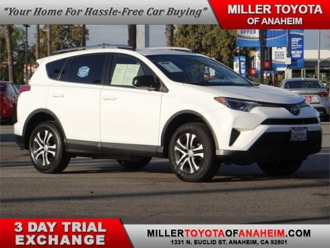 Certified Pre-Owned 2017 Toyota RAV4 LE*NAVI.RADAR CRUISE.XM. Front Wheel Drive SUV - In-Stock